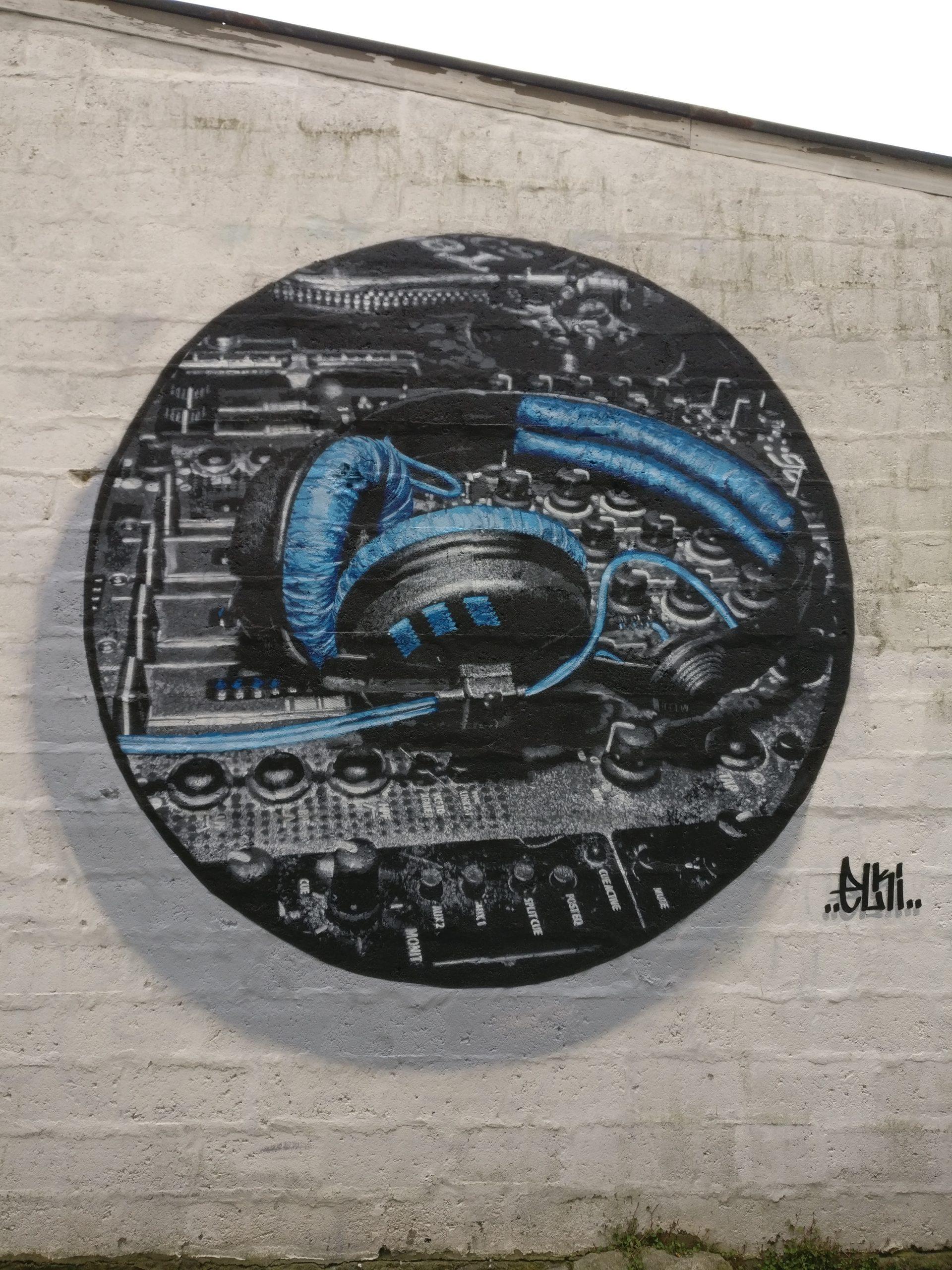 The murals of the 2018 Nuart Aberdeen Street Art Festival